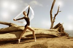 Ballerina and Driftwood