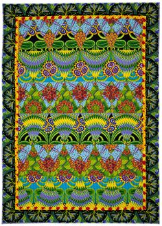 Growing Power: Quilts by Jane Sassaman | The National Quilt Museum