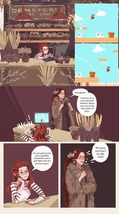 Hades' Holiday :: Part 1. Page 9   Tapastic Comics - image 1