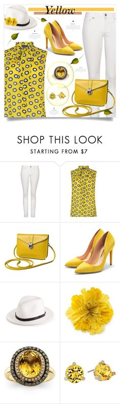 """""""#4744"""" by elda-1985 ❤ liked on Polyvore featuring Yves Saint Laurent, Boutique Moschino, Rupert Sanderson, rag & bone, Gucci, LeVian and Kate Spade"""