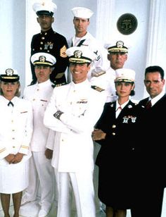 JAG - best Navy TV show out there, along with NCIS