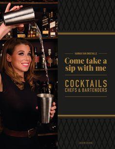 Welkom in de wondere wereld van de cocktails! Hannah Van Ongevalle werd niet alleen verkozen tot Beste Bartender van België; ze behoort tot de beste bartenders ter wereld. Ze is de ideale gids langs de meest legendarische cocktails.