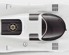 Porsche 917 Top Poster by INK