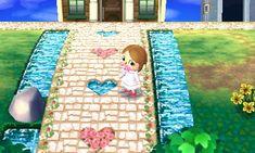 Cute flower path