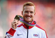 Greg Rutherford reveals long jumping is making him deaf as Brit bids to defend Olympic and European titles - Rutherford currently holds the Olympic, World Championships, Commonwealth and European tiles