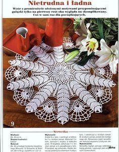 Criatividades em Crochê: mesa