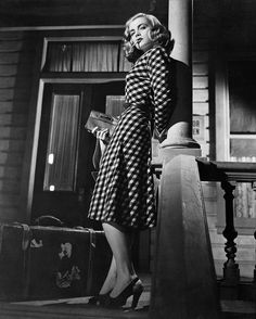 """Lizabeth Scott in The Strange Love of Martha Ivers (1946) """"Go ahead and hit me, Sam. I've got it coming."""""""