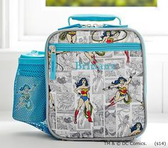Boys Lunch Bags, Kids Bags, Luggage Sale, Wonder Woman Party, Cool Lunch Boxes, Jaba, Held, Pottery Barn Kids, Bag Making