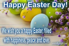 wishes messages Happy Easter Greetings, Wishes and Easter Greetings Messages Funny Easter Wishes, Easter Greetings Messages, Happy Easter Quotes, Happy Easter Greetings, Happy Easter Day, Easter Greeting Cards, Easter Celebration, Wishes Images, Peace And Love