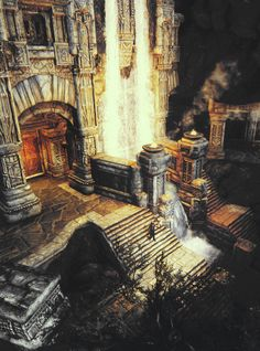 Markarth- beautiful but I hate this place.