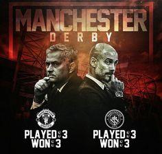 10 September 2016... Manchester derbisine sadece 5 gün kaldı...  Loading...  #Mourinho #Guardiola #PremierLeague #ManchesterDerby