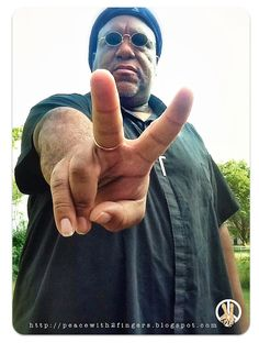 Peace!....with 2 Fingers
