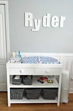 Free and Easy DIY Furniture Project Plan from Ana White: Learn How to Build the Ultimate Changing Table with Drawer Storage
