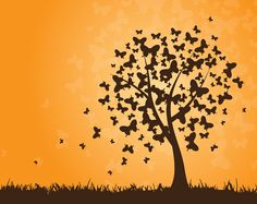 "tree of life...""life is like a butterfly, you go through changes before you reach your full potential"""
