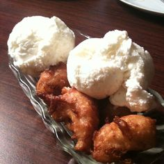 Deep Fried Bananas @ Sai Jai Thai Restaurant