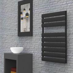 sèche serviettes noir