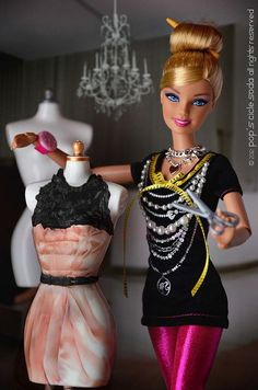 """BARBIE IS SO FASHIONABLE"" http://www.topuniversities.com/blog/fashion-careers-day-life-fashion-buyer"