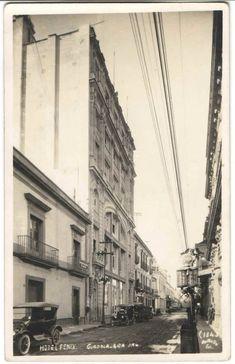 Hotel fénix Street View, History, Pink, Guadalajara, Antique Photos, Buildings, Facts, Historia