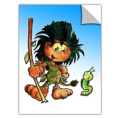 ArtApeelz 'Kid Troll' by Luis Peres Graphic Art on Wrapped Canvas