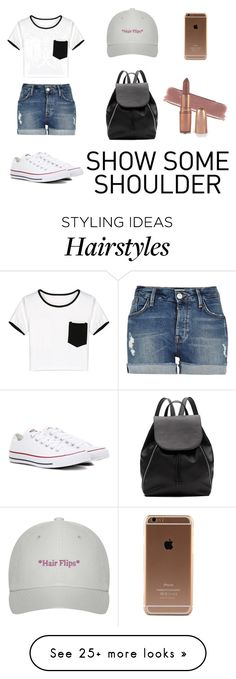 """""""Untitled #135"""" by adna-257 on Polyvore featuring WithChic, River Island, Converse and Witchery"""