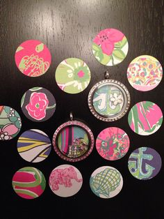Hey, I found this really awesome Etsy listing at https://www.etsy.com/listing/189407685/lilly-pulitzer-inspired-origami-owl
