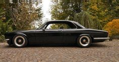 Jaguar XJ-C Series 11, Coupe, Low, Tuned and looking spiffy. (Jagmania Library)