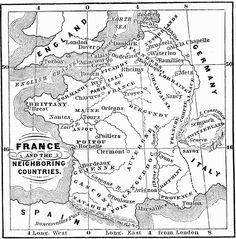 France and Neighboring Countries, 1066–1154