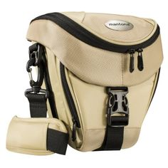 Mantona Colt SLR-Kameratasche (Universaltasche inkl. Schnellzugriff, Staubschutz, Tragegurt und Zubehörfach) sand - http://kameras-kaufen.de/mantona/sand-mantona-colt-slr-kameratasche-inkl-und