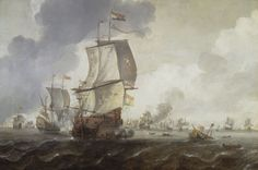 A Battle of the First Dutch War, 1652-54 - National Maritime Museum