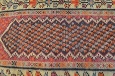 Antique Famous Malayer Sennah Pattern Turkish Runner by TEKKARUG
