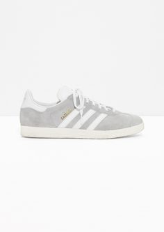 & Other Stories image 1 of adidas Gazelle in Grey