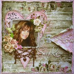Scrapbook page kit & video tutorial by Gabrielle Pollacco for The Scrapbook Diaries. (Kit & online video available while quantities last -March 2015) ....includes premium papers, designer stamps, floral embellishments, chipboard designs, inks, stencil and more (this is a DOUBLE kit, 2 kit pages and 2 video tutorials!). Available at The Scrapbook Diaries http://www.thescrapbookdiaries.com/shop/house-of-roses-double-kit-by-gabrielle-pollacco/