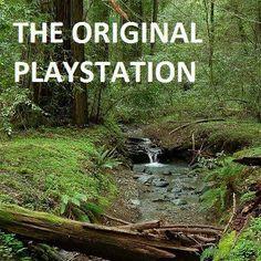 The original playstation. Magical!