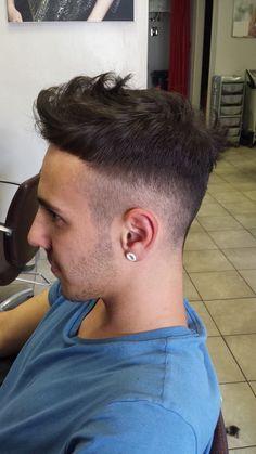 Taglio capelli da modello