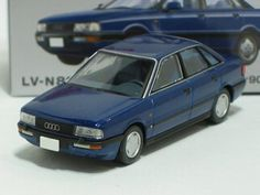 TOMICA TOMY TOMYTEC LIMITED VINTAGE NEO LV-N82b Audi 90 2.0E Europe (BLUE)1: 64 | eBay