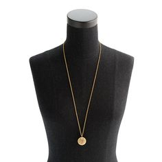 Beaded ball pendant necklace $68