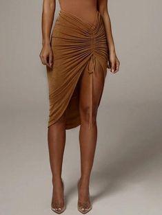 Bodycon Midi Skirt, Slit Skirt, High Waisted Skirt, Cheap Skirts, Mini Skirts, Sexy Rock, Signature, Asymmetrical Skirt, Body Con Skirt