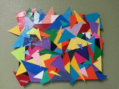 DIY wall art for the kids at Rainbow House