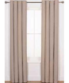 Heart of House Hudson Textured Curtains 228x228cm - Oatmeal. > #ArgosRoomInspiration