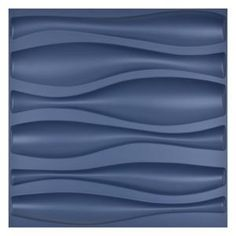 Ekena Millwork 3/8 in. x 23-3/8 in. x 23-3/8 in. Large Marrakesh White Architectural Grade PVC Decorative Wall Panels-WALP24X24MRK - The Home Depot Vinyl Wall Panels, Decorative Wall Panels, Tile Panels, Matt And Blue, Pvc Wall, Wall Tv, Wave Design, Headboards For Beds, Interior Walls