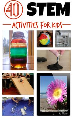 40 Awesome Stem Activities for Kids