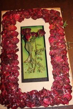 Dried Flower Frame DIY