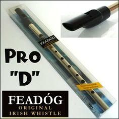 "Feadog New Feadog Pro D"" Irish Tin Penny Whistle In Nickel"" by Feadog. $18.90. Irish Feadog Tin Whislte in the key of 'D'"