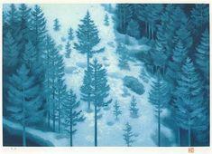東山魁夷 雪の後