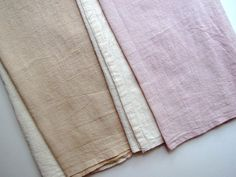 how-to make tea stained towel- might worked for my stained flour sack towels!
