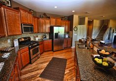 Gorgeous kitchen with breakfast bar! Located in Charlotte, NC.