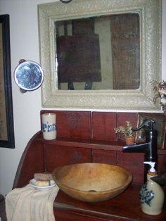 primitive country bathroom ideas. Primitive Bathroom Ideas | Half Bath - Designs Decorating HGTV Rate Shirley Pinterest Bathrooms, Baths Country A
