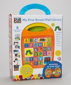 Take a look at this My First Smart Pad Library Set by The World of Eric Carle on #zulily today!
