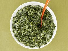 Creamed Spinach Recipe : Ellie Krieger : Food Network - FoodNetwork.com