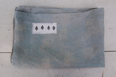 hand dyed patched stamped vintage textile